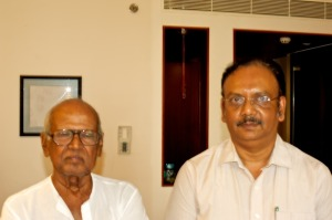 satish with bapu